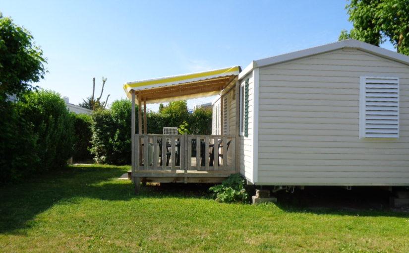 Mobil-home 2 chambres climatisé a La Rochelle